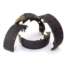 Omix-Ada 16726.09 Brake Shoes, Front