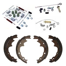 Omix-Ada 16766.06 Brake Shoe Service Kit, Rear