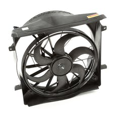 Omix-Ada 17102.60 Radiator Fan Assembly, 3 Pin connector