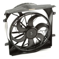 Omix-Ada 17102.61 Radiator Fan Assembly, 2 Pin connector
