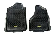 Outland Automotive 398290301 Front Floor Liner Kit, Black