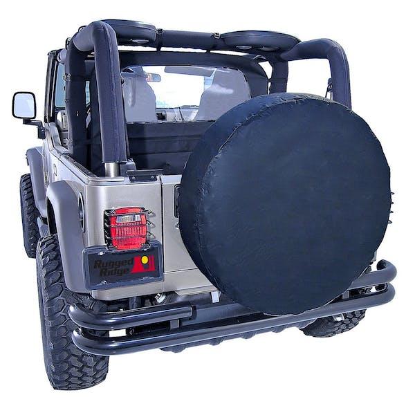 Outland Automotive 391280435 35-36 Inch Tire Cover, Black Diamond