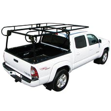 Paramount Automotive 16601 Compact Truck Contractors Rack Black