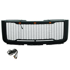 Paramount Automotive 41-0179MB Impulse Packaged Grille, Matte Black