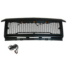 Paramount Automotive 41-0190MB Impulse Packaged Grille, Matte Black