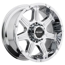 Pro Comp Wheels 6051-2983 Xtreme Alloys Series 6051 Chrome Finish