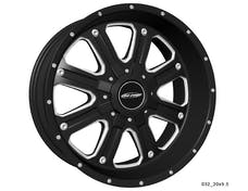 Pro Comp Wheels 5182-7905 Xtreme Alloys Series 5182 Black/Machined Finish