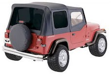 Rampage Products 99435 Factory Replacement Soft Top-Jeep Black Diamond
