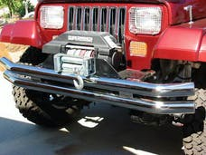 Rampage Products 8449 Double Tube Bumper Stainless