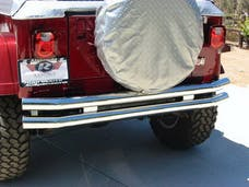 Rampage Products 8448 Rear Double Tube Bumper Stainless