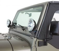 Rampage Products 7608 Windshield Hinge Light Bracket