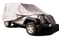 Rampage Products 1201 Custom Vehicle Cover Grey