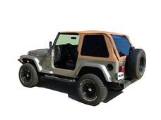 Rampage Products 109517 Frameless Trail Top - Jeep Spice