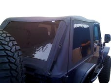 Rampage Products 109735 Frameless Trail Top - Jeep Black Diamond