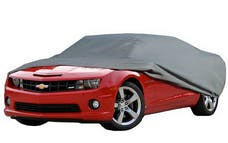 Rampage Products 1400 Custom Vehicle Cover Grey