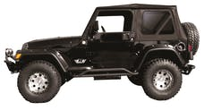 Rampage Products 68335 Complete Soft Top Kit Black Diamond