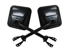 Rampage Products 7617 Side Mirror Kit  Black