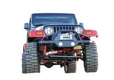 Rampage Products 78510 Front Recovery Bumper Black