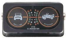 Rampage Products 791005 Clinometer, Jeep Graphic