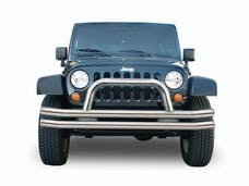 Rampage Products 8420 Front Double Tube Bumper Stainless