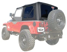 Rampage Products 912835 Factory Replacement Soft Top-Jeep Black Diamond