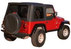 Rampage Products 912935 Factory Replacement Soft Top-Jeep Black Diamond