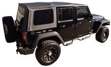 Rampage Products 99935 Factory Replacement Soft Top-Jeep Black Diamond