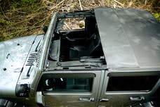 Rampage Products 990135 Frameless Trail Top - Jeep