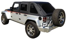 Rampage Products 109835 Frameless Trail Top - Jeep Black Diamond
