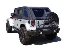 Rampage Products 88606 Rear Recovery Bumper Black