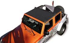 Rampage Products 94835 Combo Sun Brief & Safari Top Black Diamond
