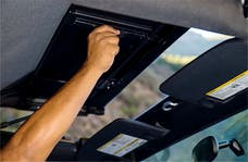 Rampage Products 990235 Frameless Trail Top - Jeep