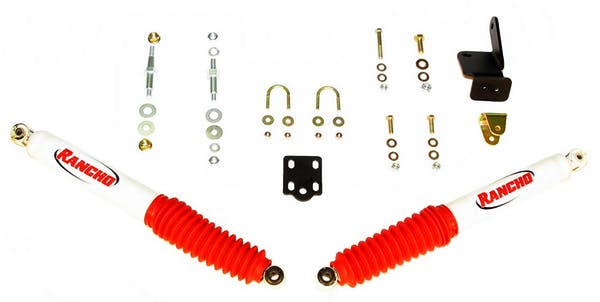 Rancho RS98511 Steering Stabilizer Kit, Dual Kit