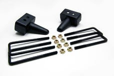 ReadyLift 66-2053 3.0in. TALL OEM STYLE REAR LIFT BLOCK KIT WITH U-BOLTS