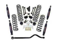 ReadyLIFT 69-6403 4'' Coil Spring Kit With Adjustable Track Bar With Sst3000 Shocks