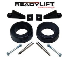 ReadyLift 66-1055 2.25in. FRONT POLY/STEEL COIL SPACER KIT WITH SHOCK AND BUMP STOP EXTENSIONS