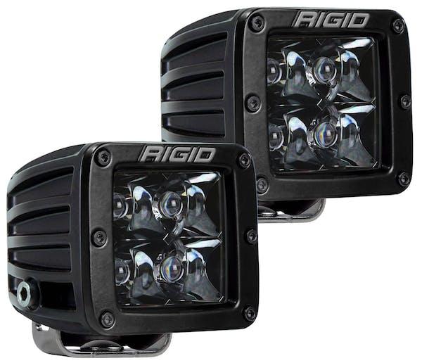 RIGID Industries 202213BLK D-Series PRO Midnight Black Optic Spot Light