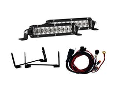 """RIGID Industries 41612 Stealth Grille Kit Includes Mounts & 2 6"""" Sr-Series"""