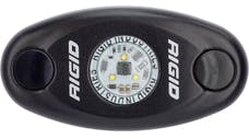 RIGID Industries 480013 A-Series LED Light, Black-Low Strength Warm White