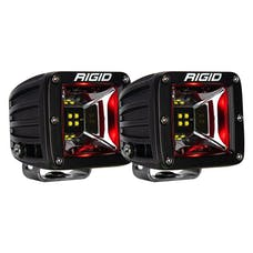 RIGID Industries 68202 Radiance Scene Red Backlight Surface Mount Pair