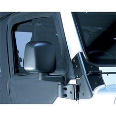 Rugged Ridge 11002.10 Door Mirror; Black; Right Side; 87-06 Jeep Wrangler