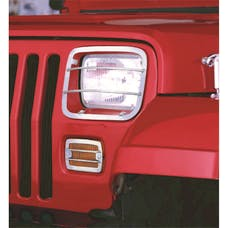 Rugged Ridge 11142.03 Euro Guard Set; Stainless Steel; 87-95 Jeep Wrangler YJ