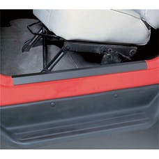 Rugged Ridge 11216.01 Door Entry Guard Set; Black; 97-06 Jeep Wrangler TJ