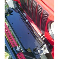 Rugged Ridge 11238.10 Winch Mounting Plate; 87-06 Jeep Wrangler