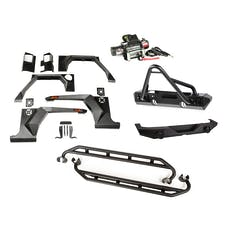 Rugged Ridge 11615.56 XHD Armor Package; Bumper with Stinger