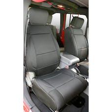Rugged Ridge 13214.01 Neoprene Front Seat Covers; Black; 07-10 Jeep Wrangler JK