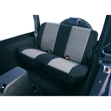 Rugged Ridge 13261.09 Neoprene Rear Seat Covers; Gray; 97-02 Jeep Wrangler TJ