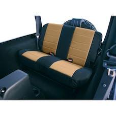 Rugged Ridge 13262.04 Neoprene Rear Seat Covers; Tan; 80-95 Jeep CJ/Wrangler YJ