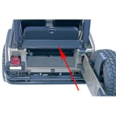 Rugged Ridge 13550.01 Tonneau and Replacement Tailgate Bar; 87-06 Jeep Wrangler YJ/TJ