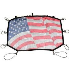 Rugged Ridge 13579.14 Eclipse Sun Shade; Front; American Flag; 07-17 Jeep Wrangler JK